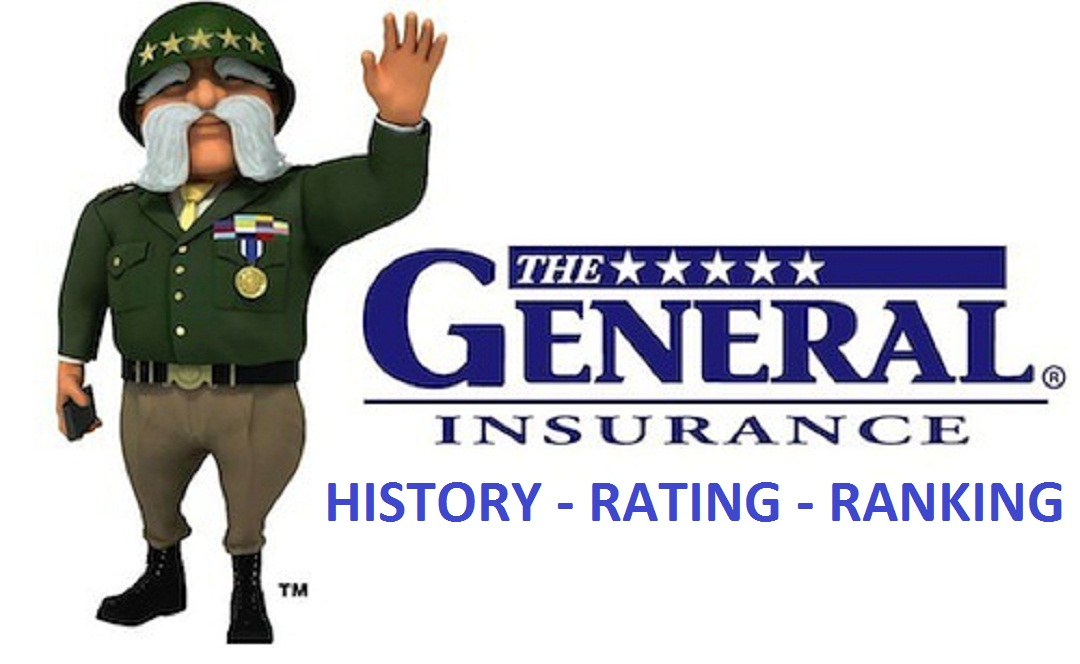 The General Insurance History Rating and Ranking HD Logo