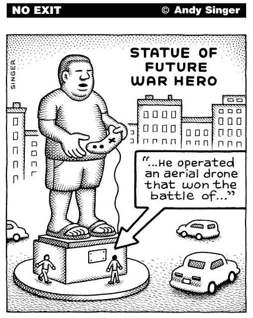 Statue Of Future War Hero