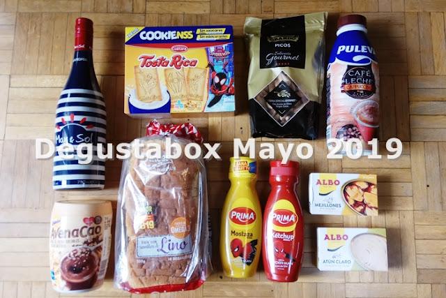 Degustabox Mayo 2019 1