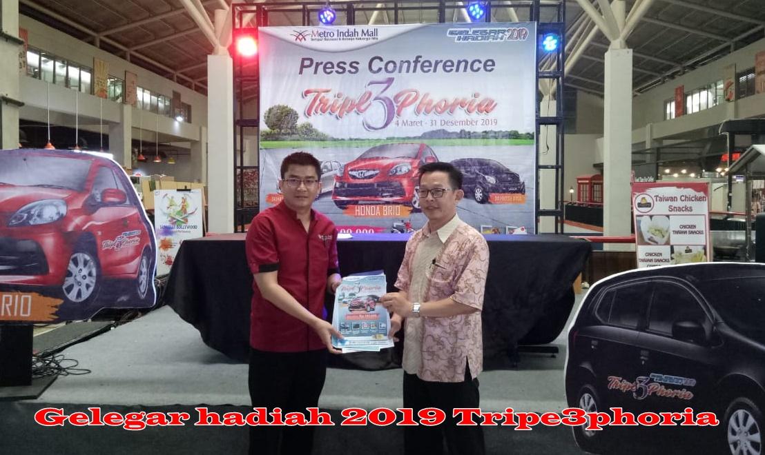 Belanja 100 Ribu di Metro Indah Mall Bisa Bawa Pulang Hadiah Mobil