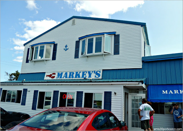 Fachada de Markey's Lobster Pool, New Hampshire