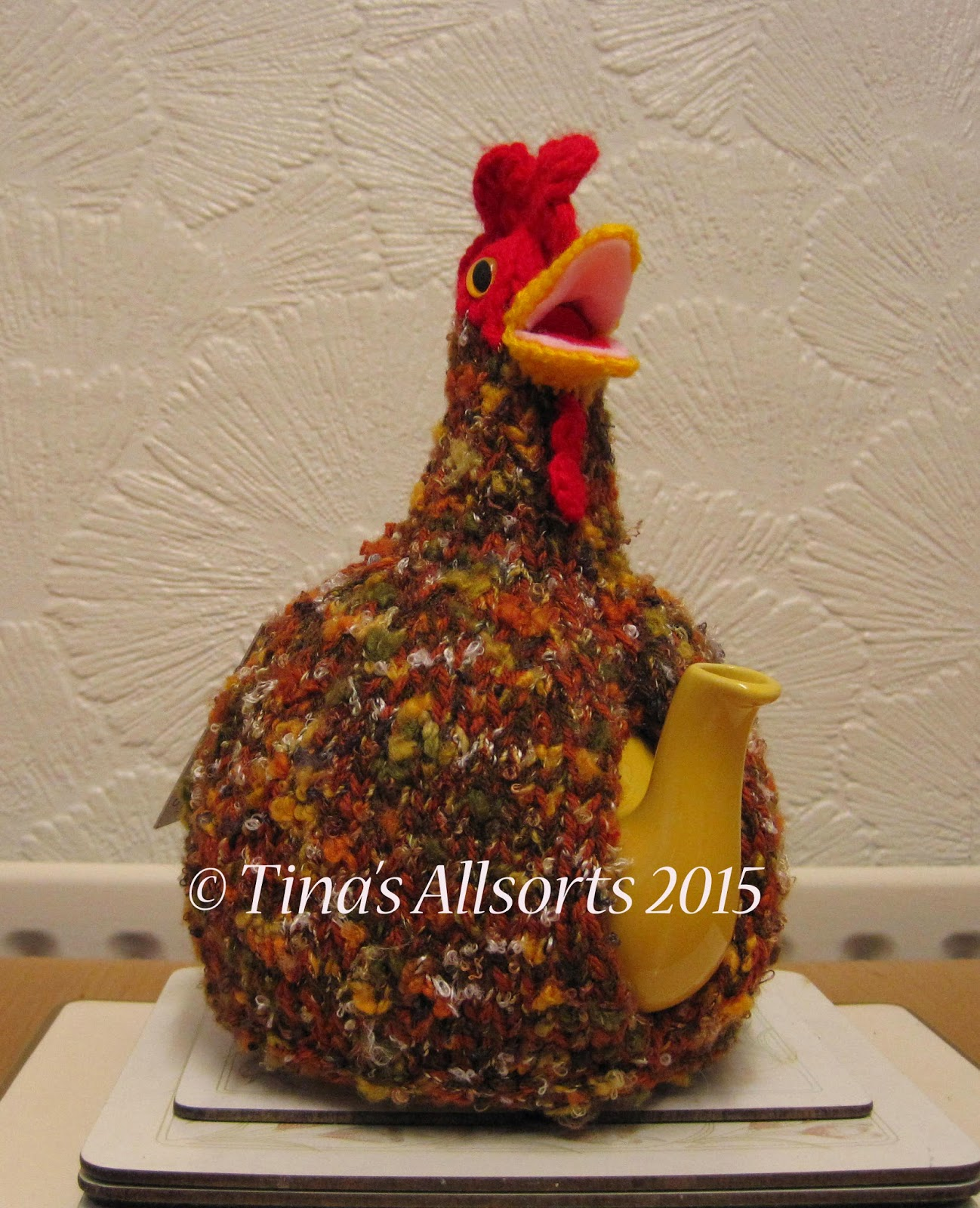 Tina's Allsorts James the Chicken