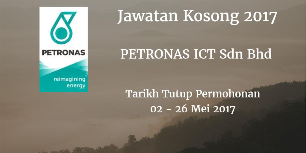 Jawatan Kosong PETRONAS ICT Sdn Bhd 02 -26 Mei 2017