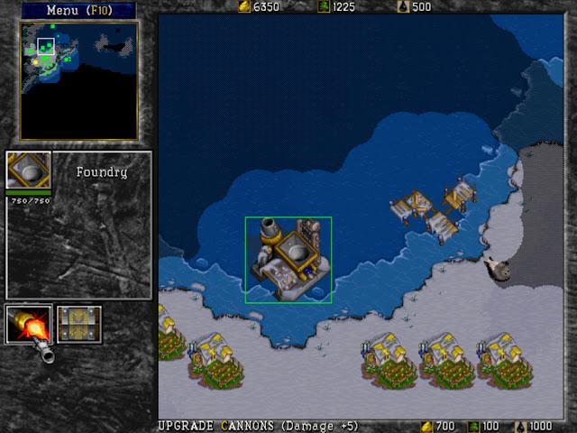 Warcraft 2 Foundry Screenshot