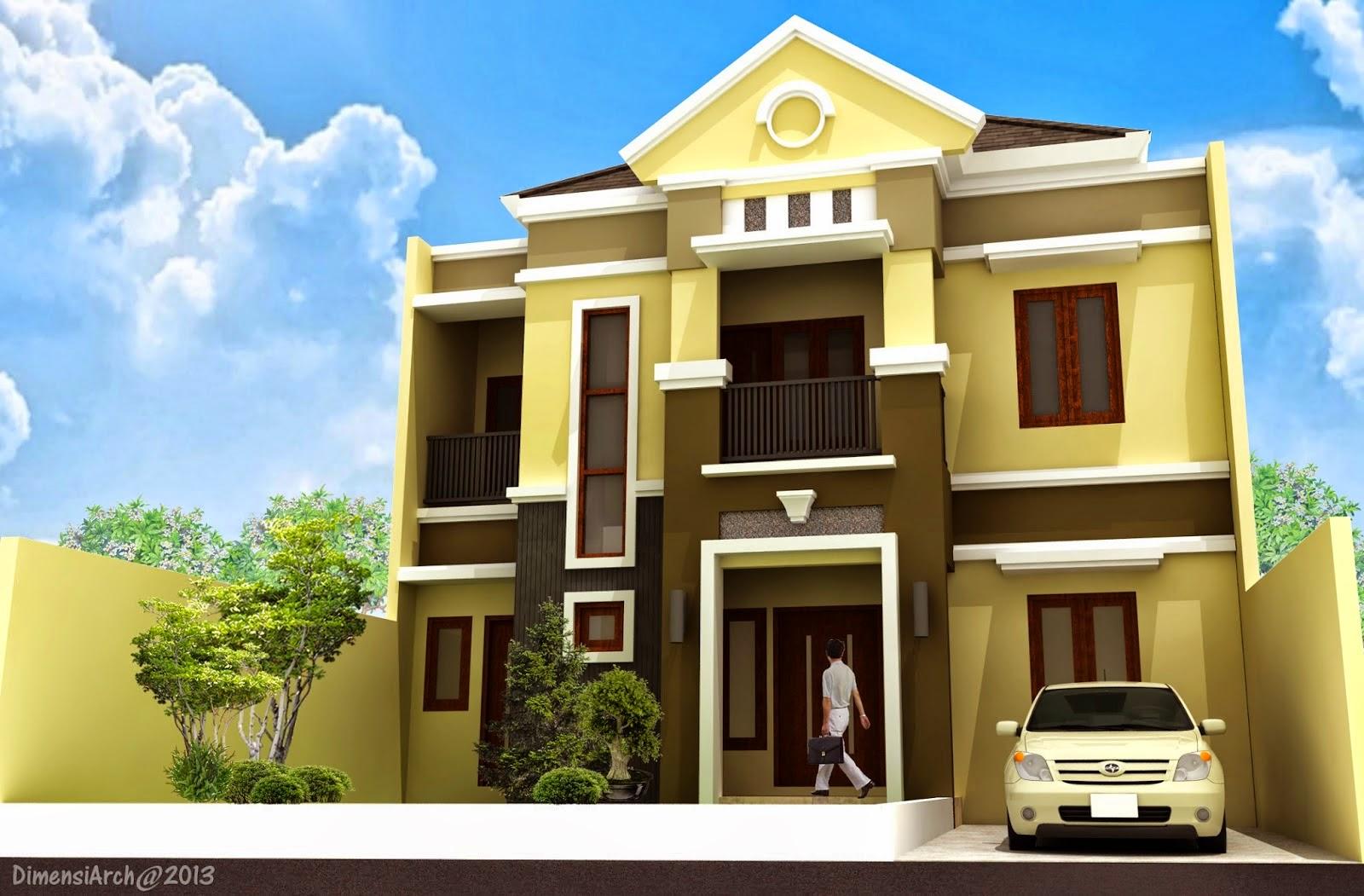 Desain Rumah Minimalis 2 Lantai Tahun 2015 - Gambar Foto ...