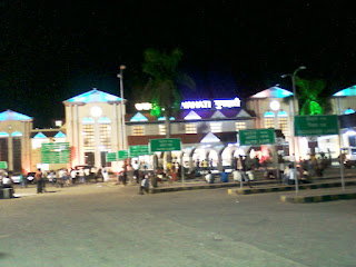 Night View of Guwahati Railway Station