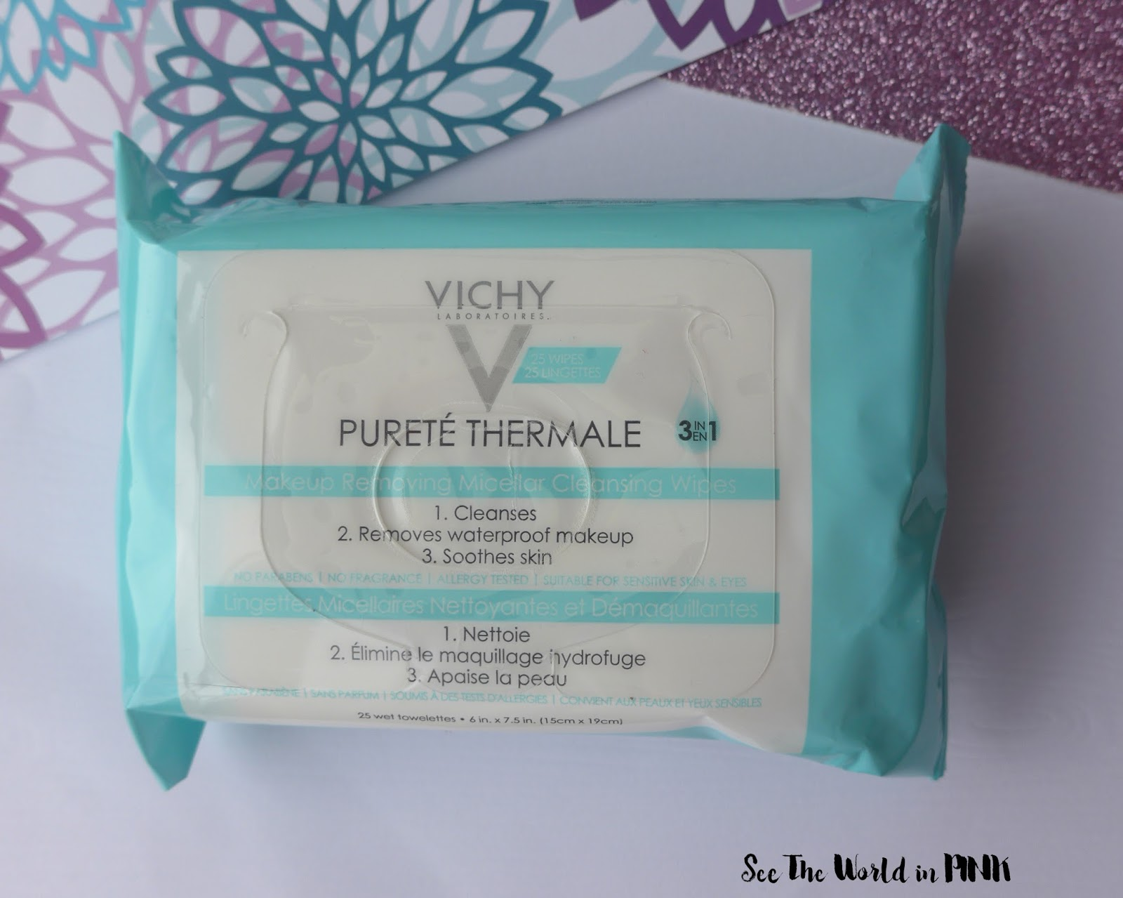 Skincare Sunday - Vichy Makeup Removing Micellar Cleansing Wipes Review