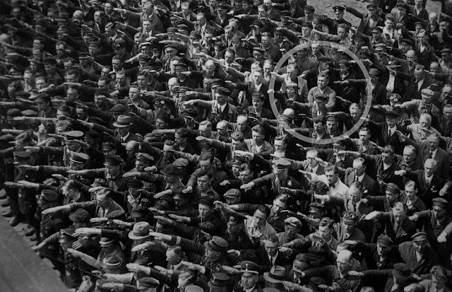 August Landmesse, Verweigerung des Hitler-Grusses
