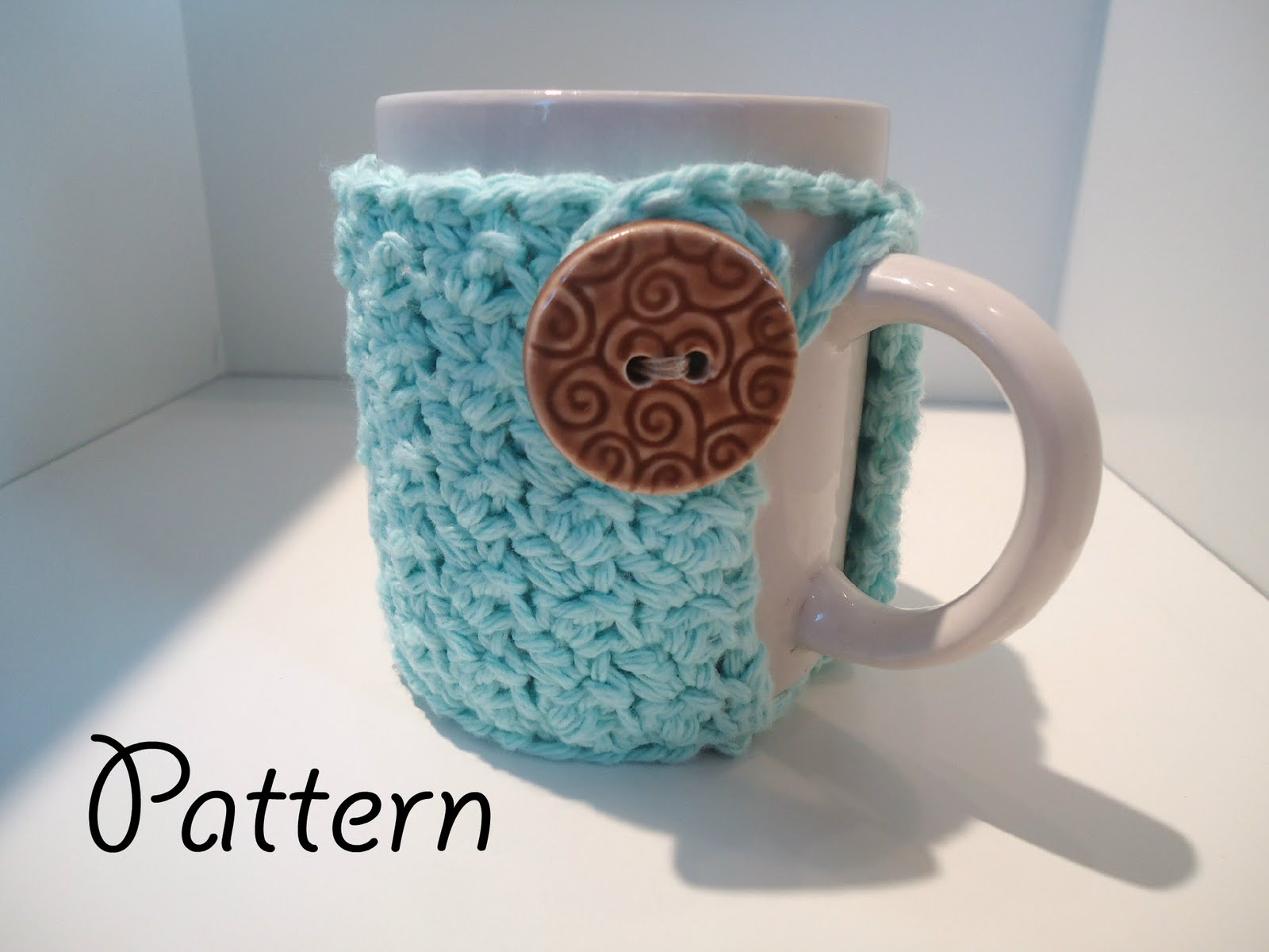 Love Me Do Crochet Blog Crochet Textured Coffee Mug Cozy Pattern Free