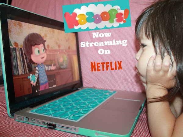 Kazoops New Pre-school Show Now Streaming on Netflix!