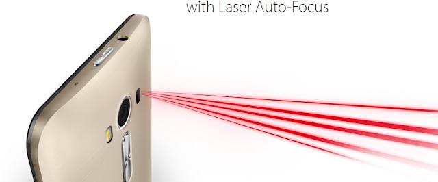 ASUS ZenFone 2 Laser (ZE550KL) Dilengkapi Dengan Laser Auto Fokus