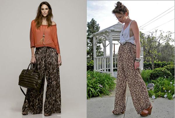 Blog Loja Nathalia Freitas  Aprenda a combinar  Calça Pantalona ... 5feefa45152