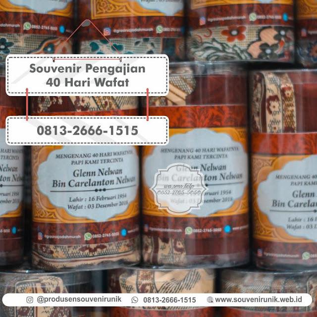 aouvenir pengajian 40 hari wafat, 0813-2666-1515