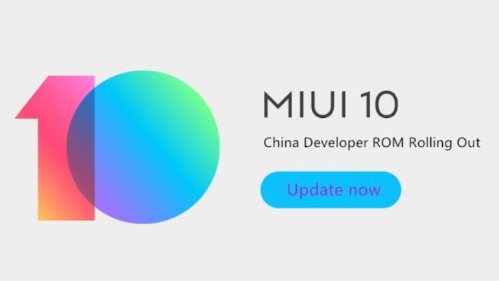 MIUI 10 Sudah Tersedia Untuk Xiaomi Redmi Y2/S2, Mi 5 dan Mi Mix