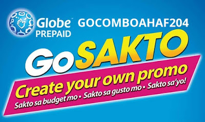GOCOMBOAHAF204 : 1000 All-Net Texts, 10mins Calls to Globe/TM for 30 Days