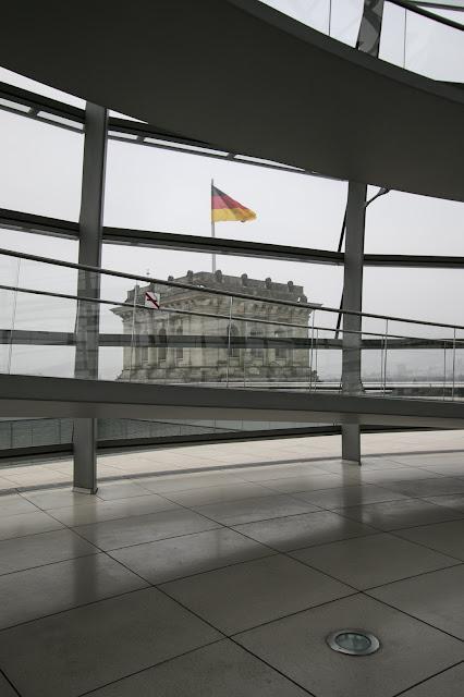 Cupola di vetro del Reichstag di Norman Foster-Berlino