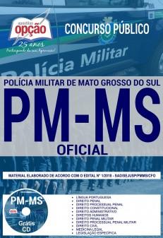 Apostila PM MS 2018 Oficial