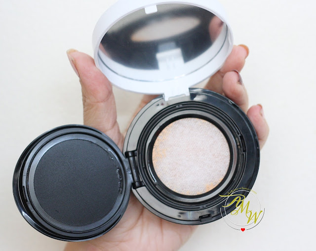 a photo of The Body Shop Fresh Nude Cushion Foundation Review in shade Vanilla 02