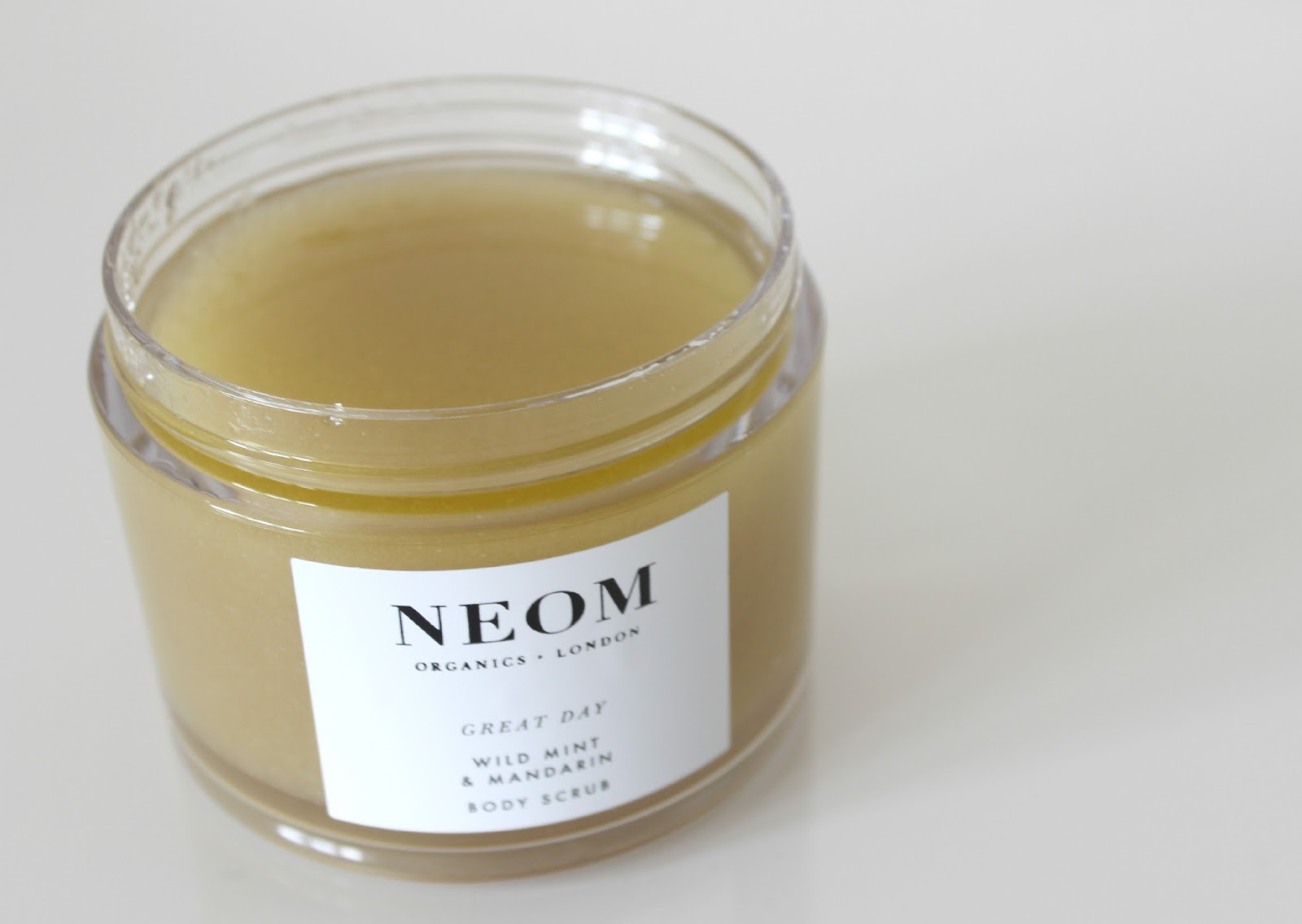 A picture of NEOM Luxury Organic Great Day Body Scrub