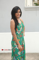 Actress Eesha Latest Pos in Green Floral Jumpsuit at Darshakudu Movie Teaser Launch .COM 0004.JPG