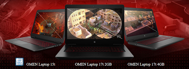 HP Omen laptop VR ready and i7 Processor is great for gaming