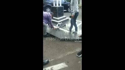 drone depan MK ditembak jatuh