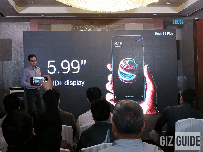Xiaomi Redmi 5 Plus with SD625 chip now official in PH too!