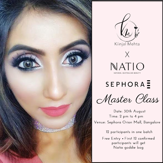 MASTER CLASS WITH NATIO @ ORION MALL, BANGALORE (pr)