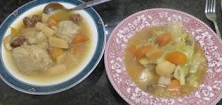 Cawl and dumplings