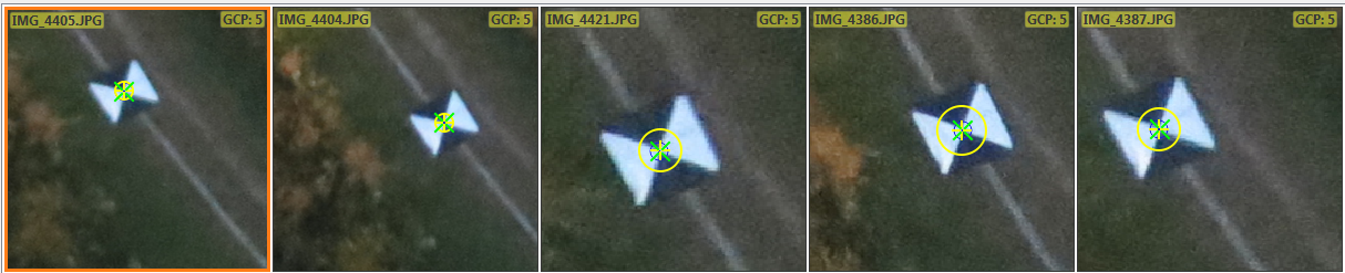 Unmanned Aerial Systems - GEOG 390: Activity 8 - Adding GCPs to