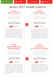 Chili's Coupons