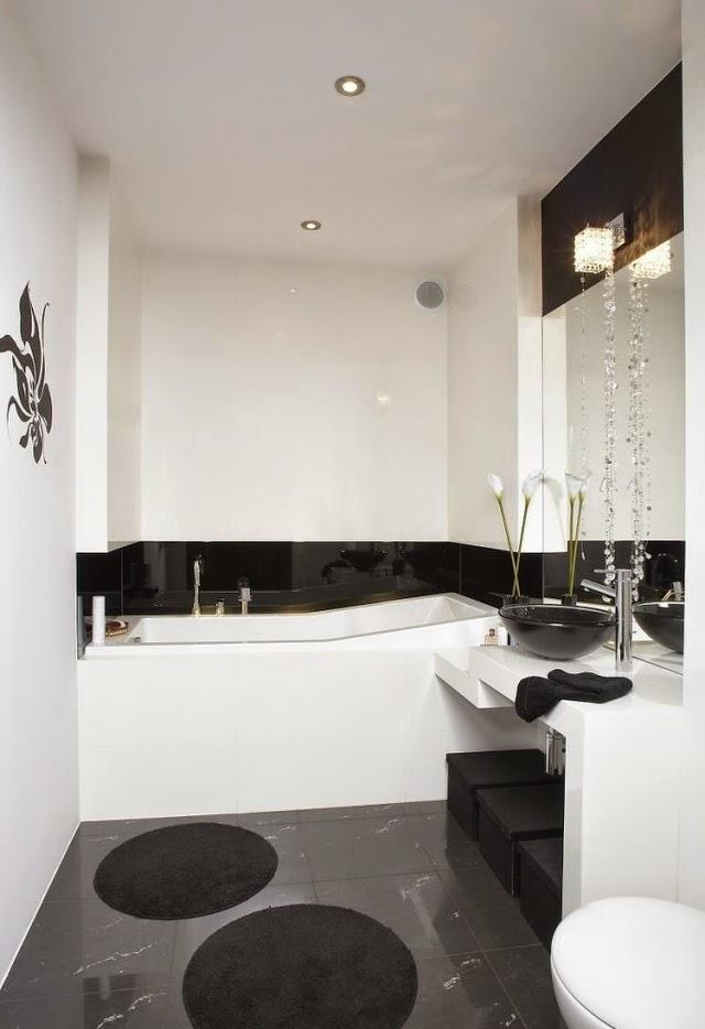 decorar cuarto baño pequeño