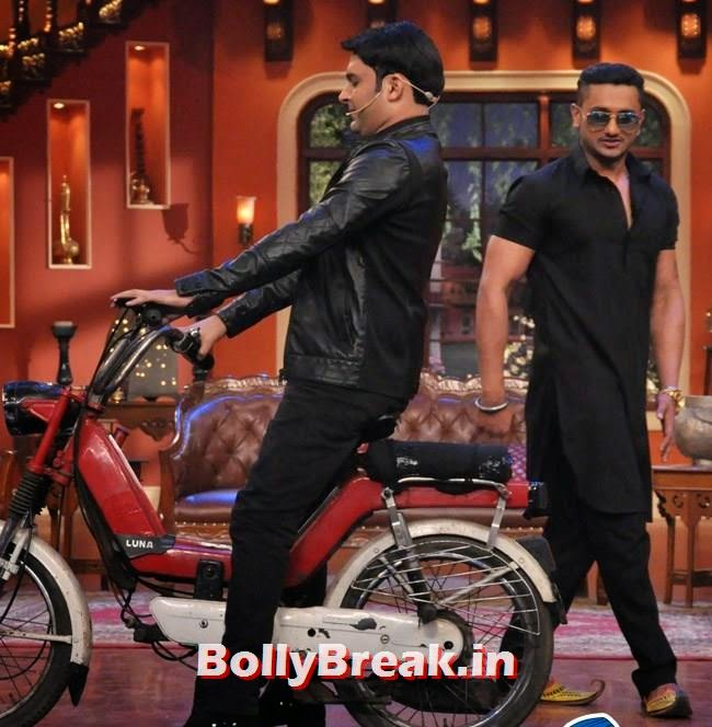 Kapil Sharma and Honey Singh, Honey Singh on Comedy Nights With Kapil