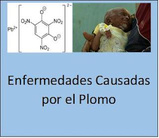 Enfermedades Causadas por Plomo.