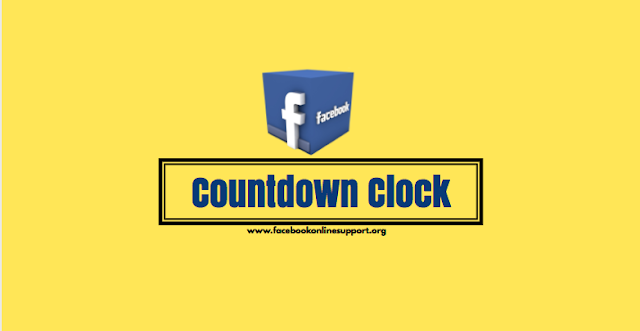 How to Add Facebook Countdown Clock
