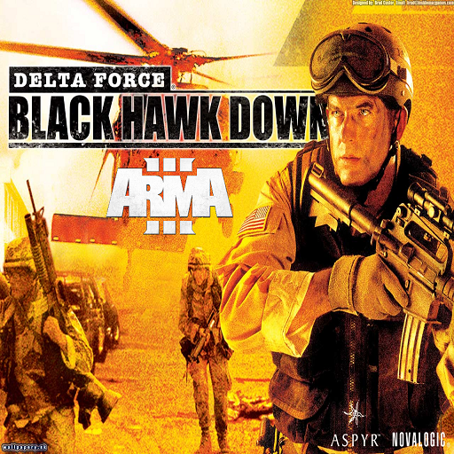 DELTA FORCE BLACK HAWK DOWN Cover Photo