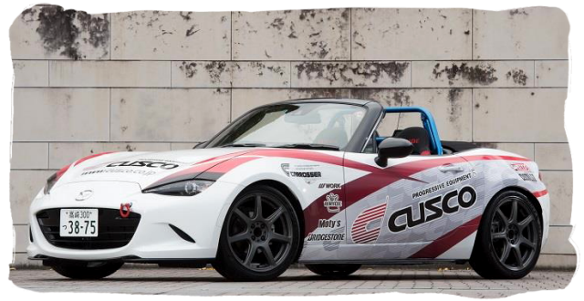 Cusco MX-5 ND Demo Car