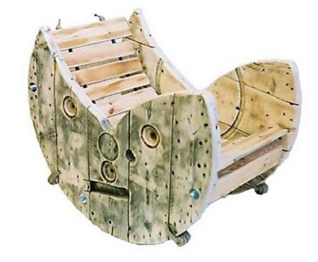 EcoNotascom 10 Ideas Ms para Reciclar Carretes de Madera Ideas para Fabricar Muebles Reciclados