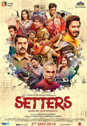 Setters 2019 ORG Hindi Movie HDTVRip 720p 900MB