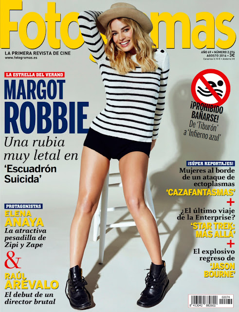 Actress, @ Margot Robbie - Fotogramas Magazine Spain August 2016