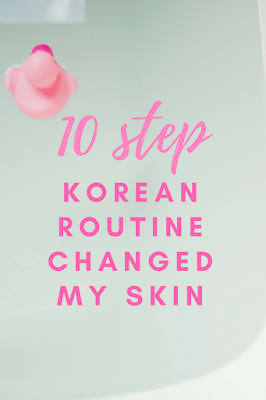 Sharing my experience with the 10 step Korean routine for skincare and my take on the routine.