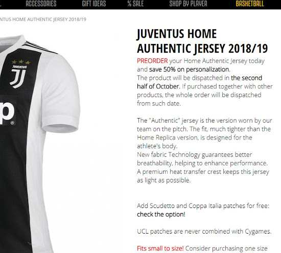 This has caused Juventus as well as some football retailers to literally  run out of shirts to sell 2fcab33c2