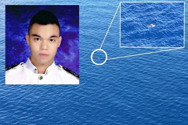 Isang Seaman, Himalang Nakaligtas Sa Tubig Na Maraming Pating Pagkatapos Mahulog Sa Barko.