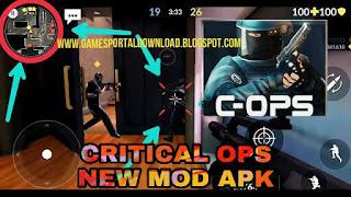 Critical Ops Mod Apk Obb
