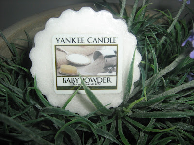 Yankee Candle, Baby Powder wosk