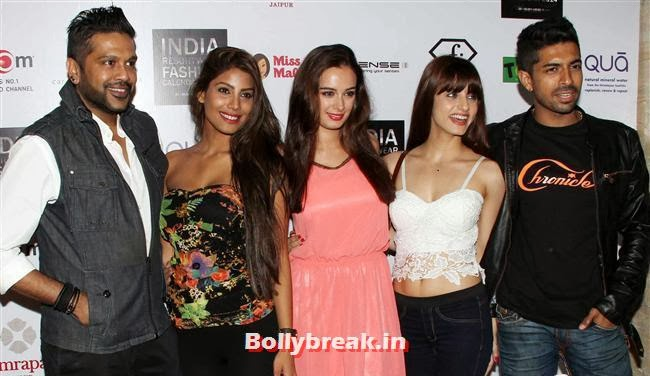 Rocky S, Nicole Faria, Evelyn Sharma and Serah Singh, Kangana, Evelyn, Pria sizzle at Resortwear Fashion Calendar Launch