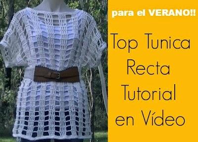 Top del Verano a Crochet Video Tutorial