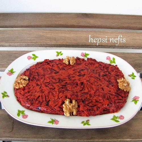 antakya mor havuç salatası