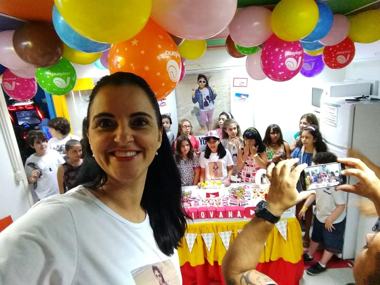 Festa De 10 Anos Da Gi Tema Youtube Da Fertilidade à Maternidade