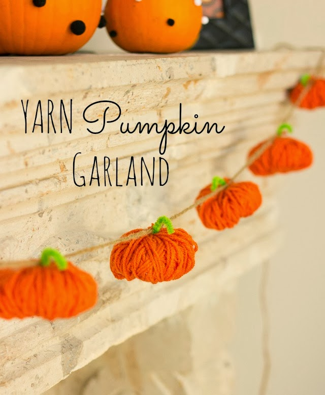 Yarn Pumpkins | Design Improvised